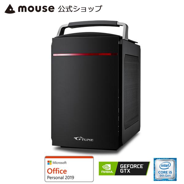 【ポイント10倍♪】LG-i330SA1-SH2-MA-AP ゲーミングPC ゲーム用 デスクトップ パソコン Windows10 Core i5-9400 8GB メモリ 256GB M.2 SSD(NVMe) 1TB HDD GeForce GTX 1660 Microsoft Office付き mouse マウスコンピューター PC BTO 新品
