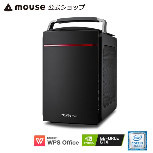 【ポイント10倍♪】LG-i330SA1-SH2-MA ゲーミングPC eスポーツ デスクトップ パソコン Windows10 Core i5-9400 8GB メモリ 256GB M.2 SSD(NVMe) 1TB HDD GeForce GTX 1660 WPS Office付き mouse マウスコンピューター PC BTO 新品