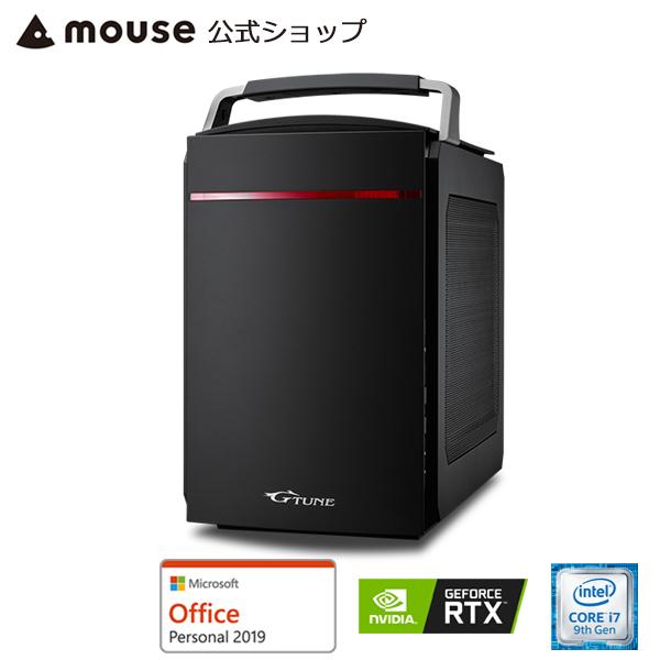 【エントリーでポイント7倍】+【ポイント5倍♪】G-Tune EL-B-2060Super ゲーミングPC eスポーツ デスクトップ パソコン Core i7-9700 16GB メモリ 256GB M.2 SSD(NVMe) 1TB HDD GeForce RTX2060 Super Microsoft Office付き mouse マウスコンピューター PC BTO 新品