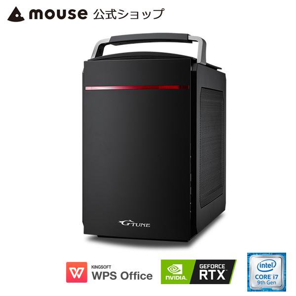【ポイント10倍♪】G-Tune EL-B-2060Super ゲーミングPC eスポーツ デスクトップ パソコン Windows10 Core i7-9700 16GB メモリ 256GB M.2 SSD(NVMe) 1TB HDD GeForce RTX2060 Super WPS Office付き mouse マウスコンピューター PC BTO 新品