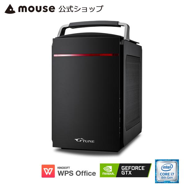 【ポイント10倍♪~5/13 15時まで】LG-i330SA2-MA ゲーミングPC e-スポーツ ゲーム用 デスクトップ パソコン Core i7-8700 16GB メモリ 2TB HDD GeForce GTX 1060 WPS Office付き mouse マウスコンピューター PC BTO 新品