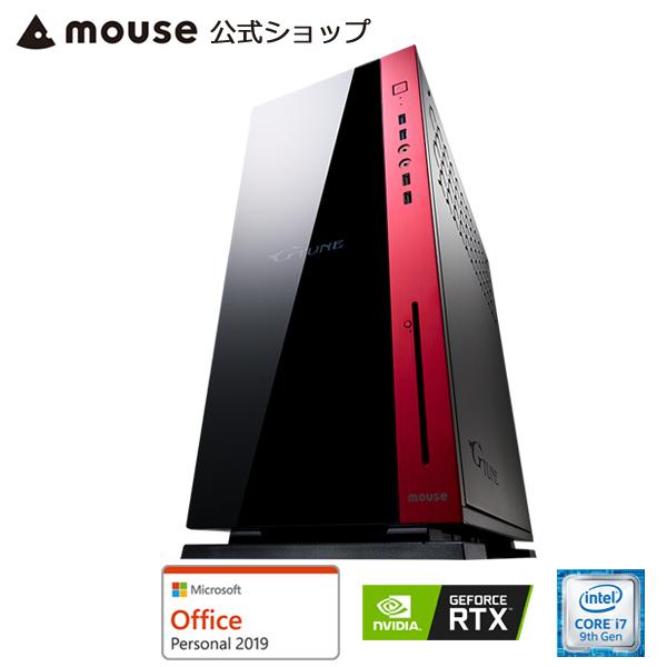 MP-i1640SA1-M2SH2-MA-AP ゲーミングPC e-スポーツ ゲーム用 デスクトップ パソコン Core i7-9700K 16GB メモリ 256GB M.2 SSD NVMe対応 2TB HDD GeForce RTX 2060 DVDドライブ Microsft Office付き mouse マウスコンピューター PC BTO 新品