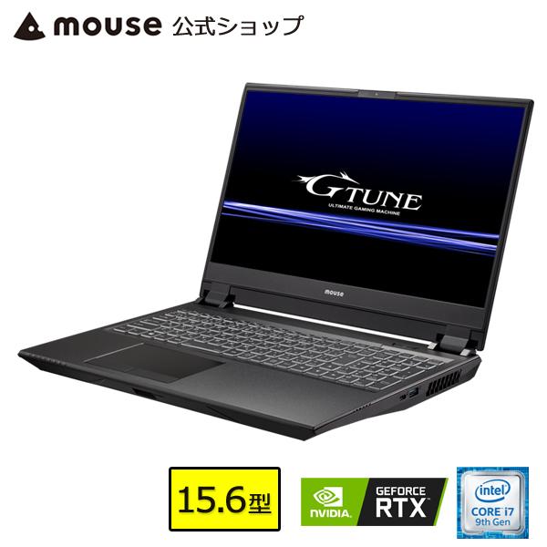 【ポイント3倍♪】ノートパソコン 新品 G-Tune E5-144-MA ゲーミングPC 15.6型 Core i7-9750H 16GB メモリ 512GB M.2 SSD(NVMe) 1TB HDD GeForce RTX2060 マウスコンピューター PC BTO 【GN】