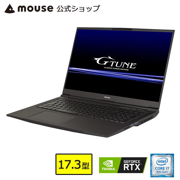 【ポイント3倍♪】ノートパソコン 新品 G-Tune E7-MKB-MA ゲーミングPC 17.3型 Core i7-9750H 16GB メモリ 512GB M.2 SSD(NVMe) 1TB HDD GeForce RTX2060 マウスコンピューター PC BTO 【GN】