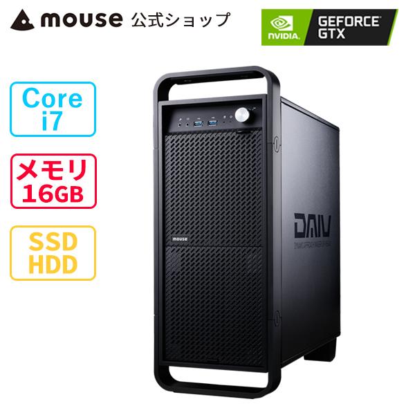 マカフィー リブセーフ 15ヶ月版+60日体験版付き DAIV Z5-CM-MA クリエイティブ Core i7 16GB 正規品送料無料 メモリ 512GB M.2 人気ブランド多数対象 GeForce マウスコンピューター HDD GTX1650 SSD mouse PC BTO 新品 1TB ※4月28日より後継モデルへ変更