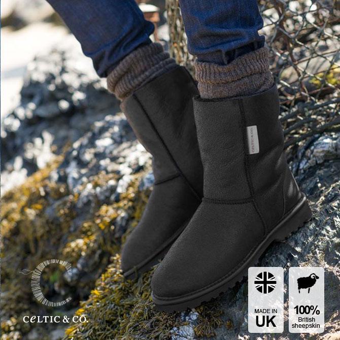 Celtic セルティック CELT ムートン ブーツ REGULAR レギュラー丈 英国製 【送料無料】 ブランド 靴 ケルティック シープスキン ブーツ