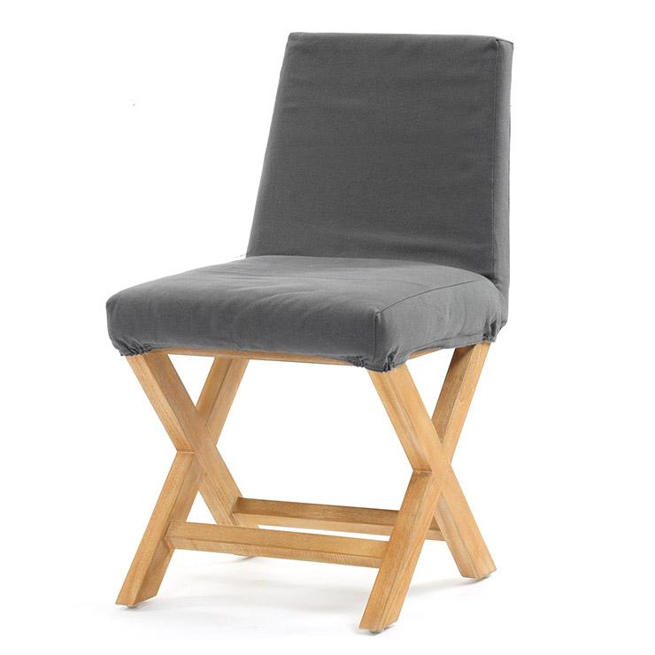 サンフラワーラタン ブリーズ チーク無垢材 ダイニングチェア エックス C380XPM【椅子 チェア インテリア ナチュラル チーク無垢】【代引き不可】