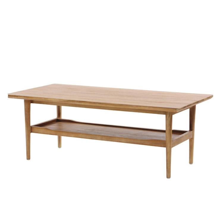 サンフラワーラタン ブリーズ チーク無垢材 センターテーブル T1800XP【テーブル インテリア】【代引き不可】