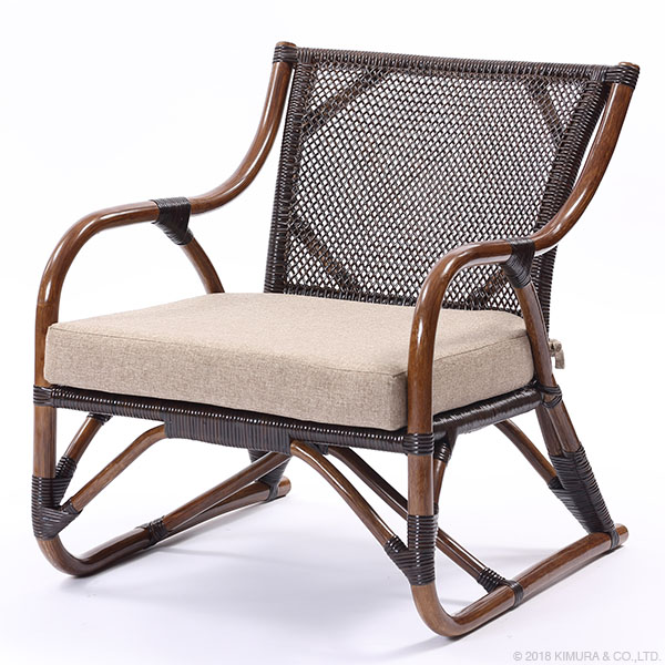 サンフラワーラタン ラタン パーソナルチェア C201KA [WAHOO シリーズ]【家具 籐家具 インテリア イス 椅子 腰かけ チェア 一人掛け 1人掛け パーソナル 】【代引き不可】