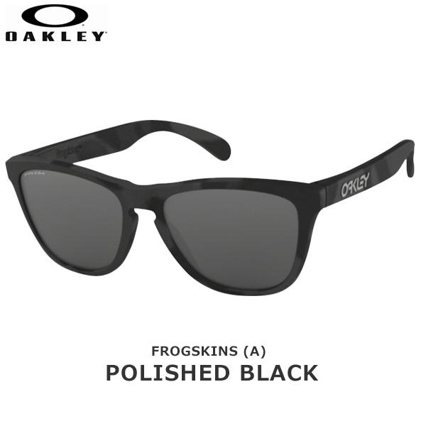 オークリー サングラス カジュアル フロッグスキン OAKLEY FROGSKINS (A) フレーム:Black Camo レンズ:Prizm Black あす楽