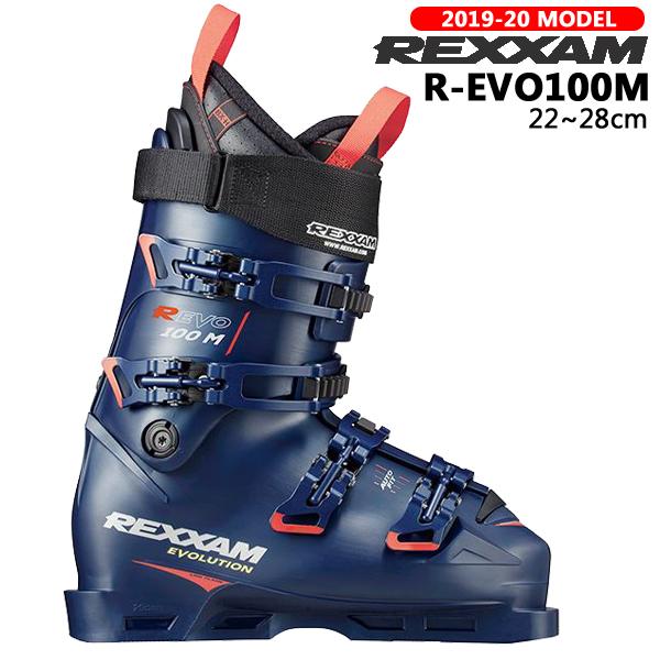 スキー ブーツ 靴 19-20 REXXAM レグザム R-EVO100M レボ オートフィット コンペ ハイエンド