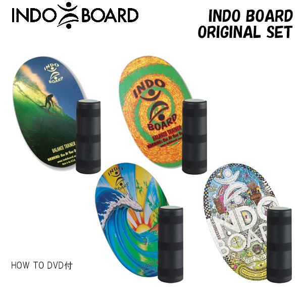 【期間限定クーポン ~10/16 9:59】/INDO BOARD インドボード ORIGINAL SET HOW TO DVD付き