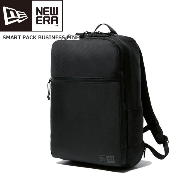 【クーポン 10%OFF 期間限定】/ビジネスバック 約26L ニューエラ NEW ERA SMART PACK BUSINESS LINE ブラック あす楽