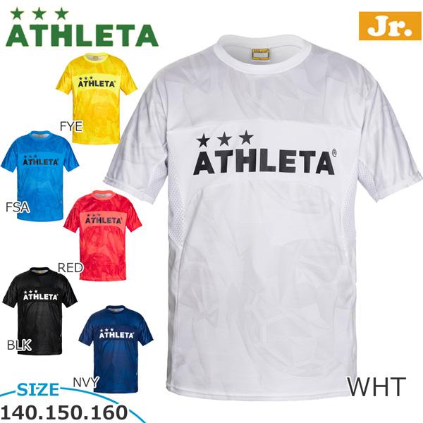 2021年人気のアスレタ 子供用 サッカーウェア 半袖 練習着 アスレタ ATHLETA ath-21ss メール便配送 フットサル 全商品オープニング価格 プラクティスシャツ 正規品送料無料 ジュニア