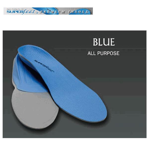 スノーボード インソール スーパーフィート SUPERFEET 青