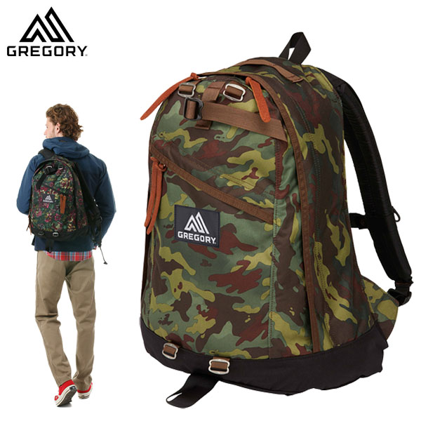 GREGORY グレゴリー DAY PACK DEEP FOREST CAMO デイパック ディープフォレストカモ /658744631 (N)【DAY-P】 (G20)