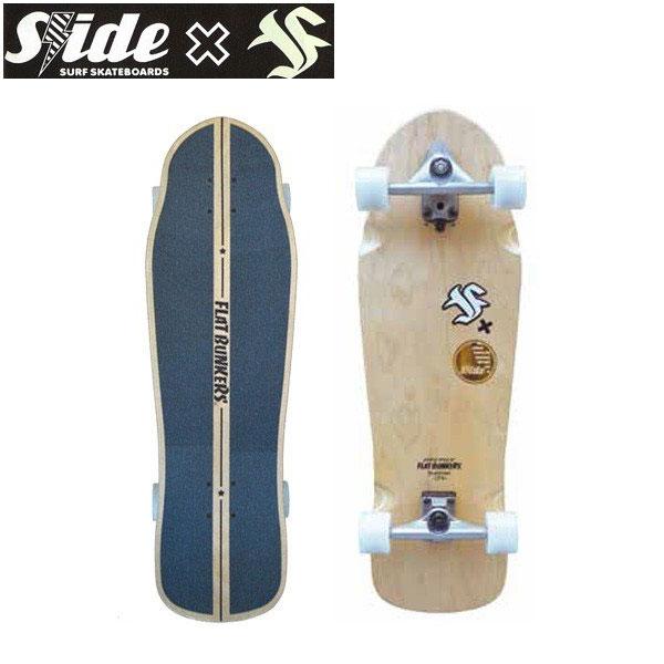 【2100円クーポンあり 4/9 20:00~】/SLIDE x FB Curve Ride 33 スライドxフラットバンカーズ コラボ! サーフスケート