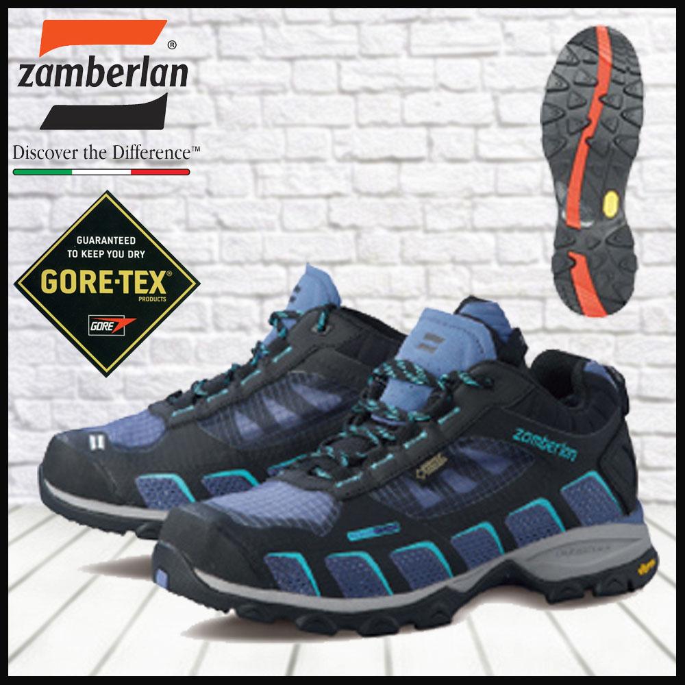 ザンバラン 登山靴 Zamberlan エアラウンドGT Women ライラック GORE-TEX防水 zamberlanがお買得
