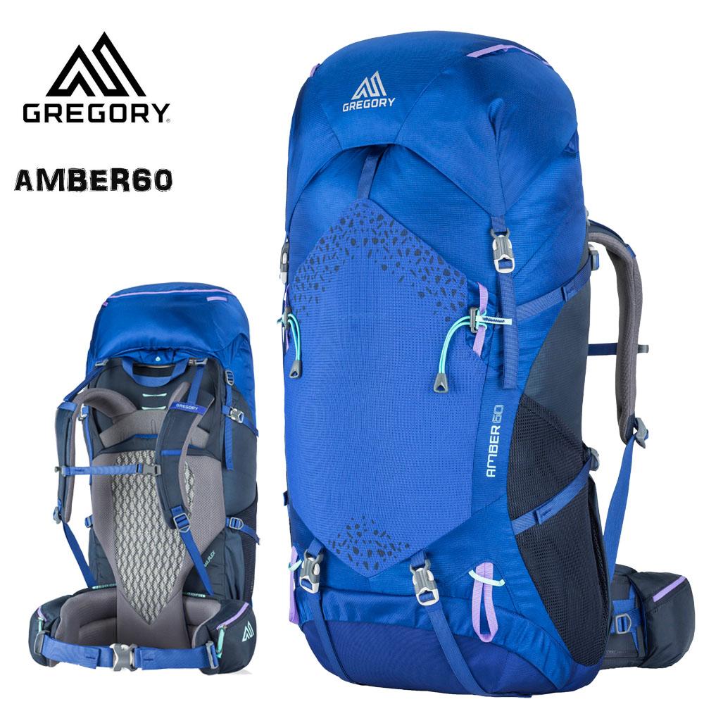 GREGORY(グレゴリー) AMBER 60 PEARL BLUE アンバー60 パールブルー女性用(N) (G20)
