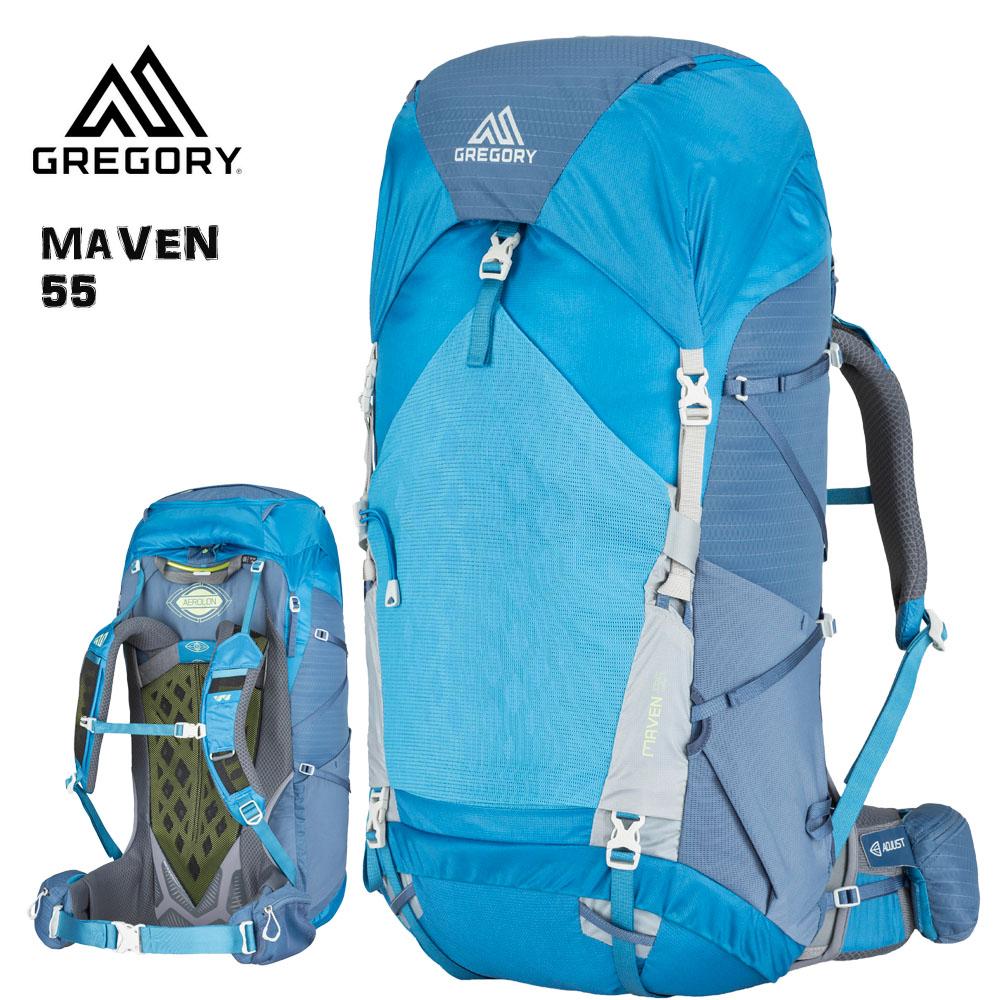 魅力的な価格 GREGORY(グレゴリー) 55 MAVEN 55 XS BLUE/SM RIVER XS/SM BLUE メイブン55 リバーブルー女性用, iDANCESTADIUM:e68e8a49 --- supercanaltv.zonalivresh.dominiotemporario.com