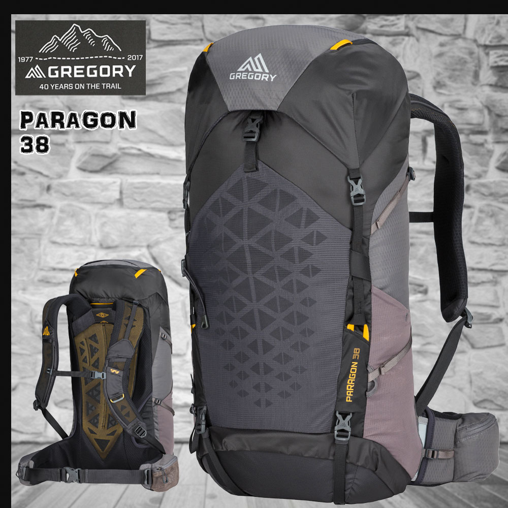 GREGORY(グレゴリー) PARAGON 38 MD/LG SUNSET GREY パラゴン38 サンセットグレー【p20】