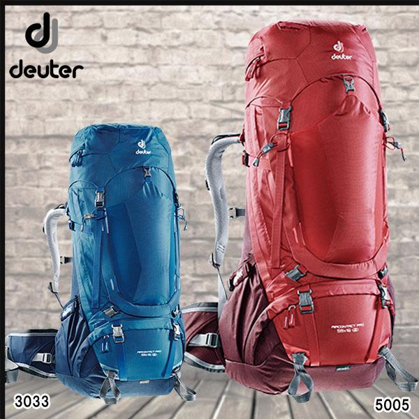 Deuter(ドイター) エアコンタクト プロ 55+15 SLバックパック【DAY-P】