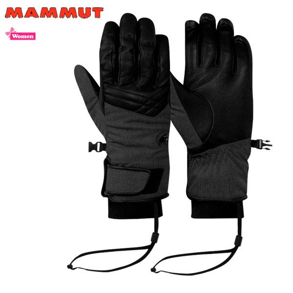 【100円引きフラッシュクーポン 使用上限設定あり ~ 3/8 9:59まで】/マムート ニバグローブ (女性用) 0001 black MAMMUT Niva Glove Women (MMTBGN) あす楽