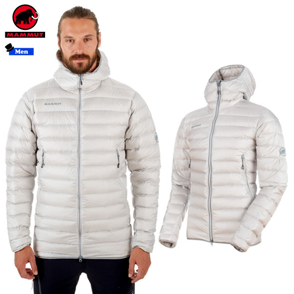 マムート MAMMUT Broad Peak Pro IN Hooded Jacket Men カラー:00103 marble(MAMMUT_2018FW) あす楽