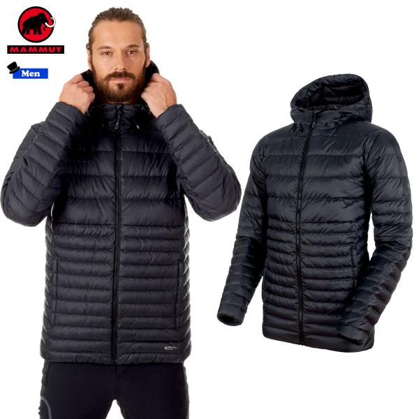 ●クーポン有!!ページ内のバナークリック♪●マムート(MAMMUT) Convey IN Hooded Jacket Men カラー:00189 black-phantom(MAMMUT_2018FW)