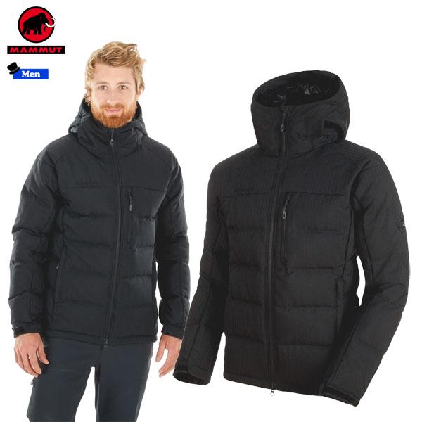 【1200円クーポンあり 4/9 20:00~】/マムート MAMMUT SERAC IN Hooded Jacket Men カラー:0001 black(MAMMUT_2018FW) あす楽