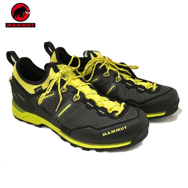 【期間限定クーポン ~10/16 9:59】/マムート 登山靴 MAMMUT アルナスカ ニット ロー Alnasca Knit Low GTX Menカラー:00182