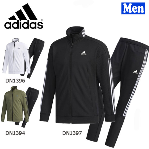 【400円クーポンあり 4/9 20:00~】/スポーツウェア メンズ アディダス adidas Madidas24/7ウォームアップジャケット&パンツ 上下セット