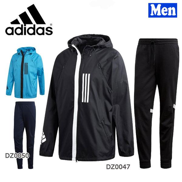【750円クーポンあり 4/9 20:00~】/スポーツウェア メンズ アディダス adidas WND ジャケット&パンツ 上下セット