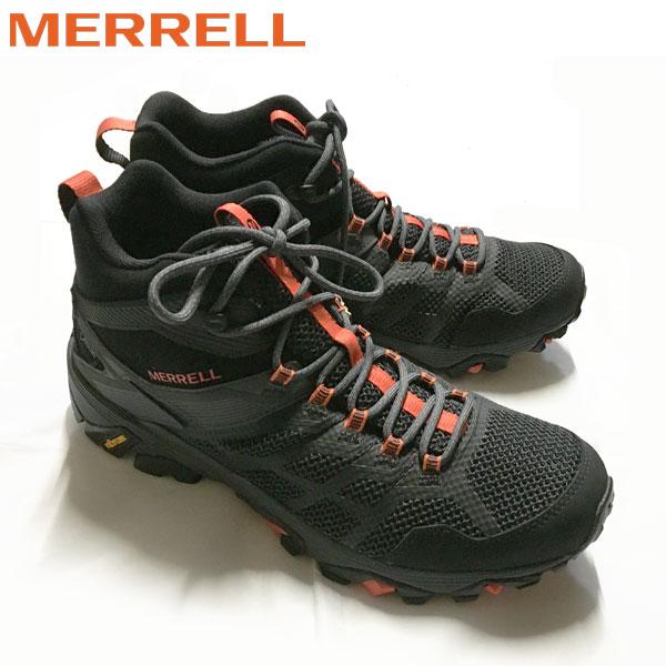 メレル MERREL モアブ FST2 ミッド ゴアテックス MOAB FST2 MID GORE-TEX カラー:BK/GRANITE (あす楽)