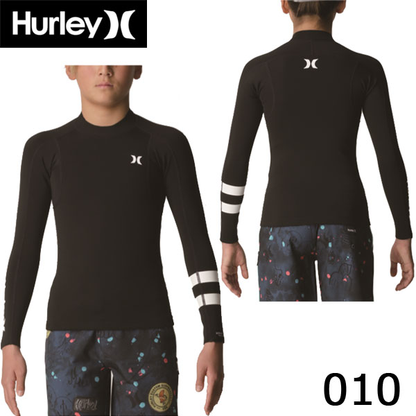 19 HURLEY ハーレー BOYS ADVANTAGE PLUS 1/1mm L/S JACKET ボーイズ ジュニア 長袖タッパー ジャケット ジャージ ウェットスーツ 日本正規品 (あす楽)
