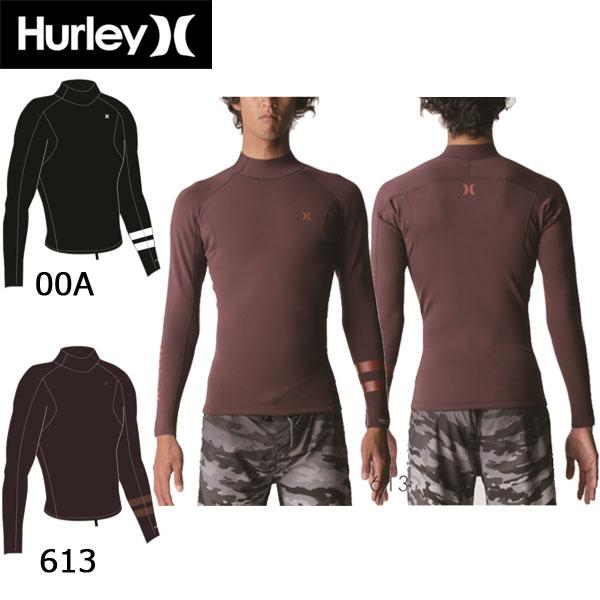 19 HURLEY ハーレー ADVANTAGE PLUS 1mm JACKET 長袖タッパー ジャケット ジャージ ウェットスーツ 日本正規品 (あす楽)