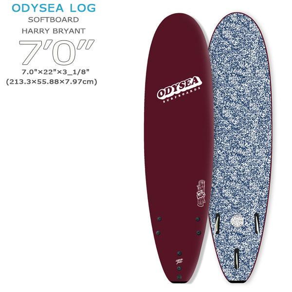 【2100円クーポンあり 4/9 20:00~】/19 CATCH SURF キャッチサーフ HARRY BRYANT COLLECTION ODYSEA 7'0 LOG フィン付き ソフトボード ファンボード -swaxw- -dcfnsc-