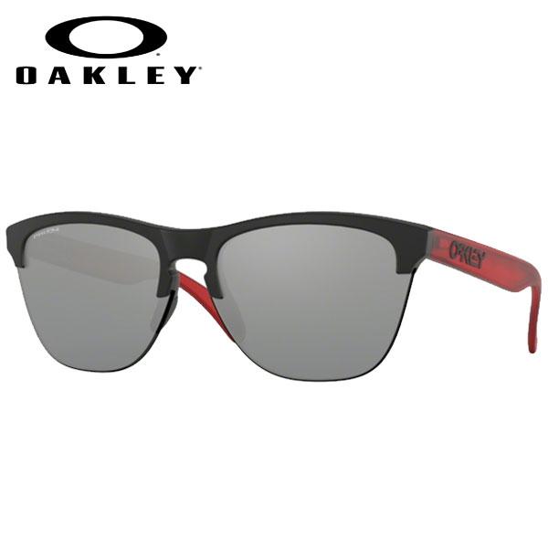 【1200円クーポンあり 4/9 20:00~】/サングラス ライフスタイル アイウェア オークリー OAKLEY FROGSKINS LITE フロッグスキンズ ライト MATTE BLACK/prizm black (あす楽)