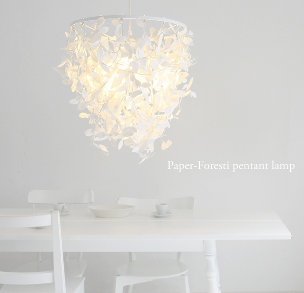 Paper Forest Pendant Lights