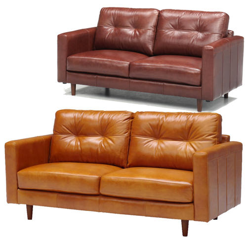 High-quality oil leather luxury sofa