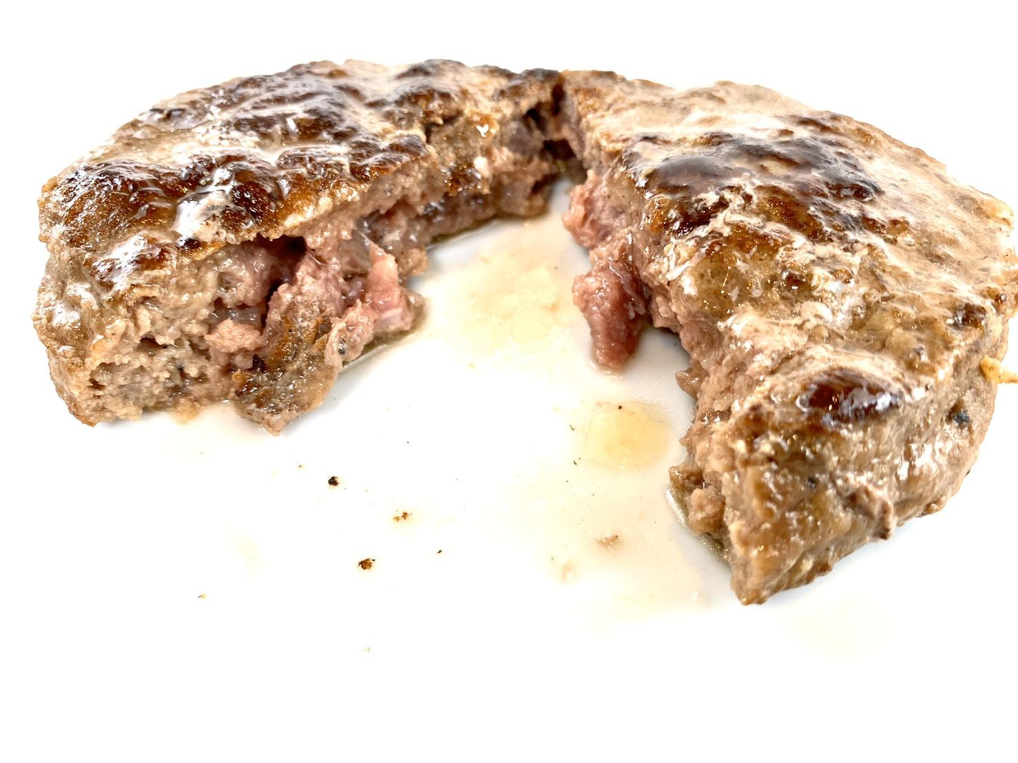 冷凍 超美品再入荷品質至上 カレー専用ハンバーグ 牛肉100% 粗挽き 茹で過ぎ注意 沸騰したお湯に凍ったまま袋ごとポチャン7分 120g 激安挑戦中 あらあらしい
