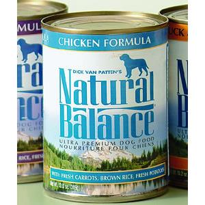 ナチュラルバランス チキン&ブラウンライス缶 369g ×24