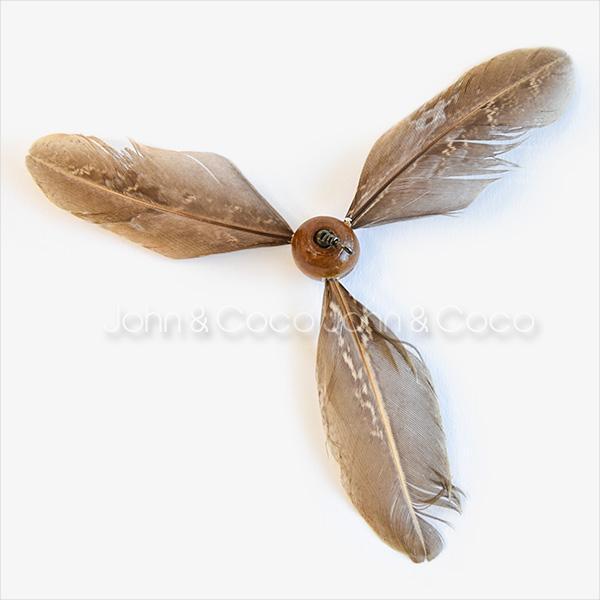 羽根がプロペラのようにクルクル回るおもちゃの替え品 Da Purrpeller (ダ・パーペラー) 替え 丈夫な猫じゃらし ねこじゃらし