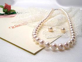 高級【花珠真珠】7.0~7.5mmアコヤ真珠ネックレスセット 入学式卒業式のフォーマルにも最適!   ギフト プレゼント