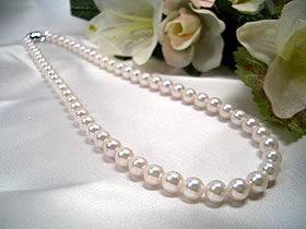 あこや真珠 ネックレス 6.5~7.0mm   ギフト プレゼント