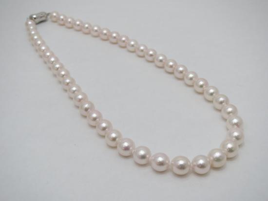 SVあこや真珠ネックレス   ギフト プレゼント