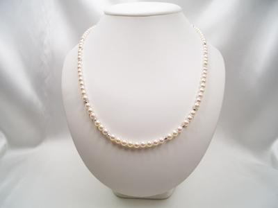 SVアコヤ真珠ネックレス(グラデーション)