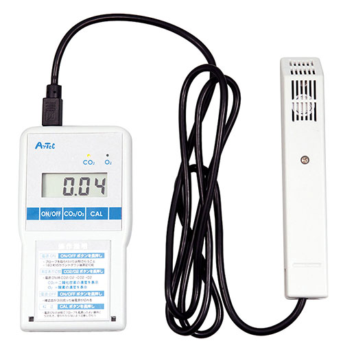 【アーテック】ATデジタルCO2/O2チェッカー ※お取り寄せ商品 【02P03Dec16】