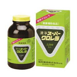 【協和薬品】清浄スーパークロレラ 1500粒 ×3個セット ※お取り寄せ商品【02P03Dec16】