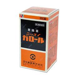 【第3類医薬品】【送料無料の4個セット】【日水製薬】ニッスイガロール 990錠 【02P03Dec16】